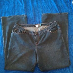 Veniza stretch flare tall jeans